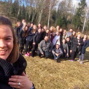 """Starptautiskā projektā jaunieši pilnveido kompetences """"Erasmus+"""" projektu sagatavošanā"""