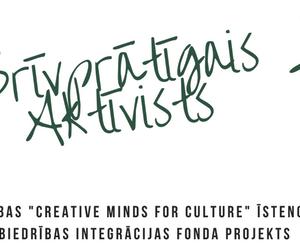 """Bērniem un jauniešiem sākusies pieteikšanās radošajām un praktiskajām aktivitātēm projektā """"Brīvprātīgais aktīvists""""."""