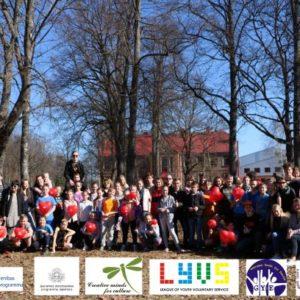 """Sējas novadā notikusi pirmā Erasmus+ starptautiskā jauniešu apmaiņa """"Use Your Rights To Respect The Others"""""""