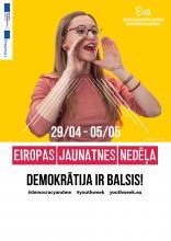 Informatīvās jauniešu iespēju darbnīcas Eiropas Jaunatnes nedēļas ietvaros