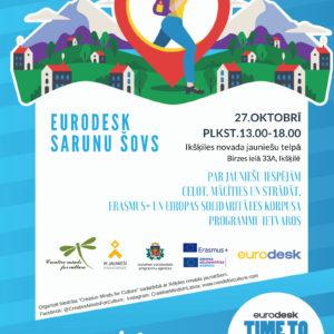 Eurodesk sarunu šovā jaunieši stāstīs par mācību, darba un ceļojumu pieredzi