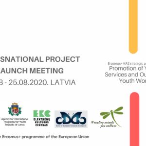 """Projektā """"Promotion of Youth Services and Outreach Youth Work"""" notikusi pirmā starpvalstu tikšanās"""