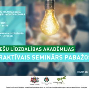 Interaktīvais seminārs par jauniešu līdzdalības iespējām