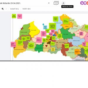 Eurodesk Latvija tīkla sanāksmē radītas idejas Eiropas Jaunatnes nedēļas aktivitātēm