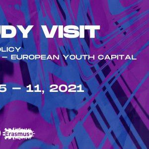"Reģistrācija Erasmus+ studiju vizītei ""Youth policy in Klaipeda – European Youth capital 2021"""