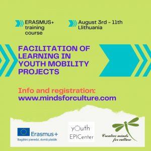 "Atvērta pieteikšanās Erasmus+ mācībām ""Facilitation of learning in youth mobility projects"""