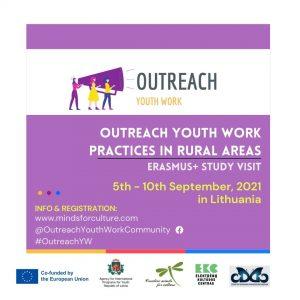 """Sākusies pieteikšanās mācību vizītei """"Outreach youth work practices in rural areas"""""""
